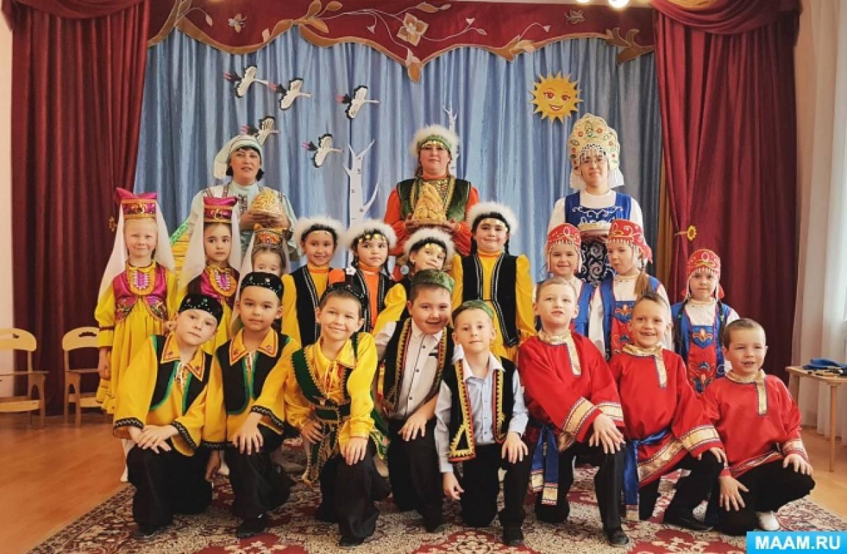 Фотоотчет по приобщению дошкольников к истокам народной культуры в рамках проекта «Секреты бабушкиного сундука»