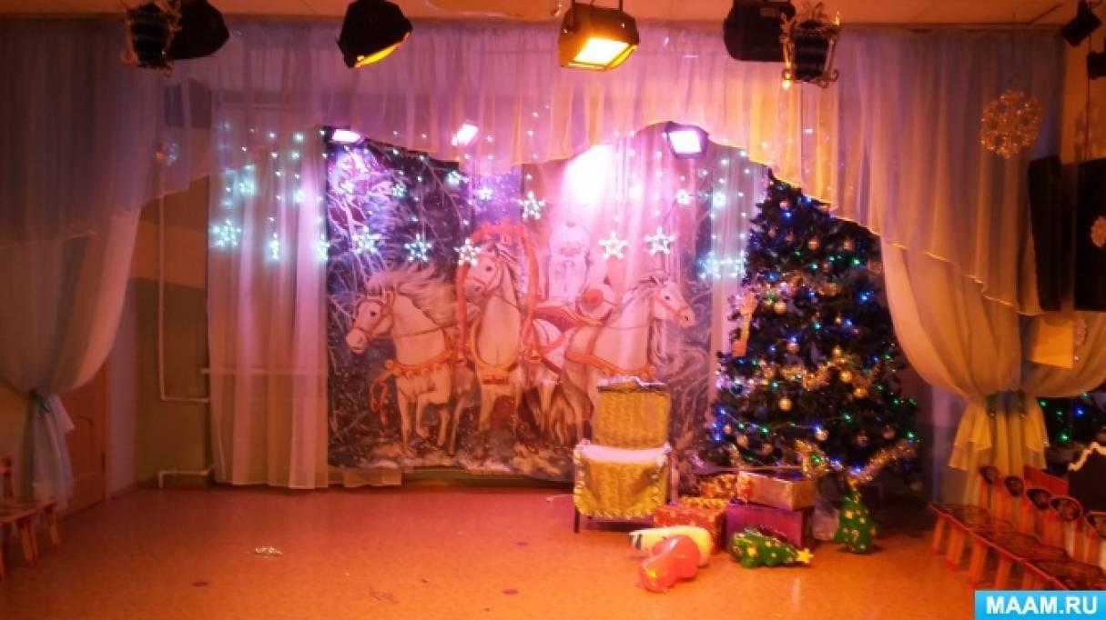 Новогодний праздник для подготовительной группы «Щелкунчик»