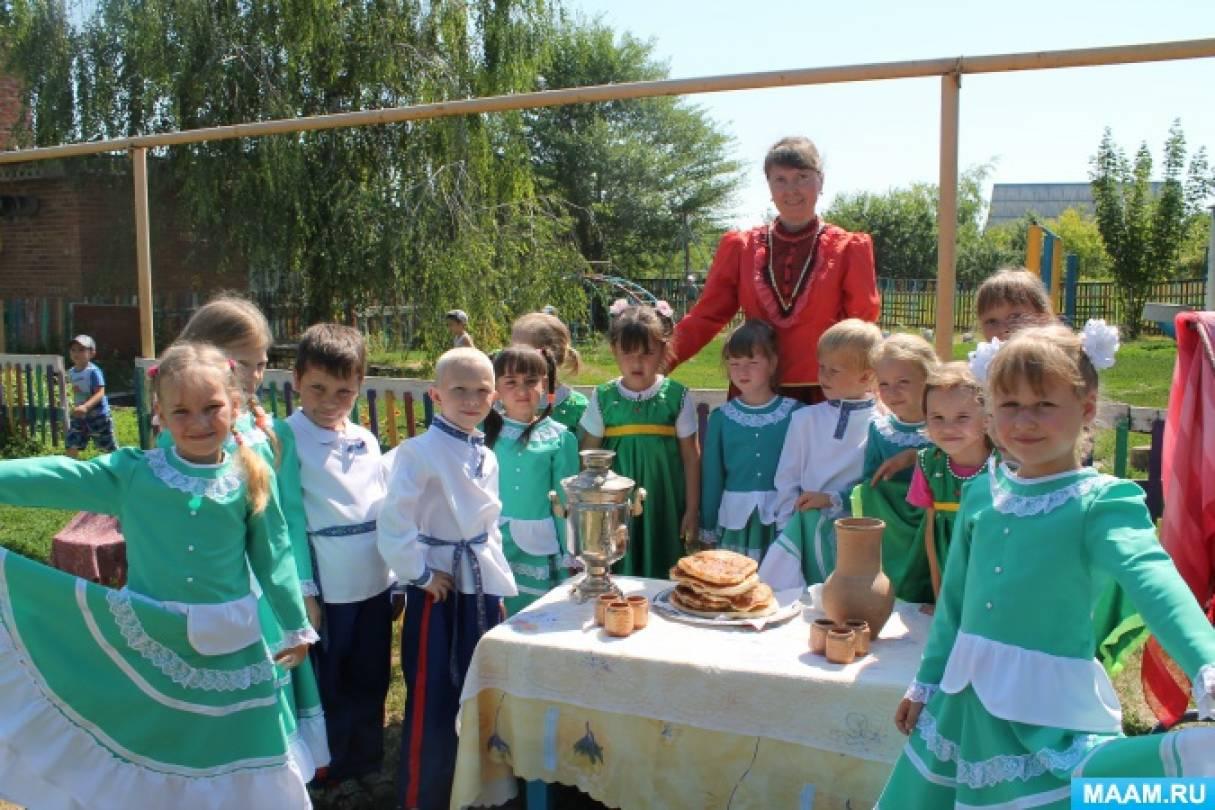 Фотоотчет с летнего казачьего праздника «Мы— донские казачата!»