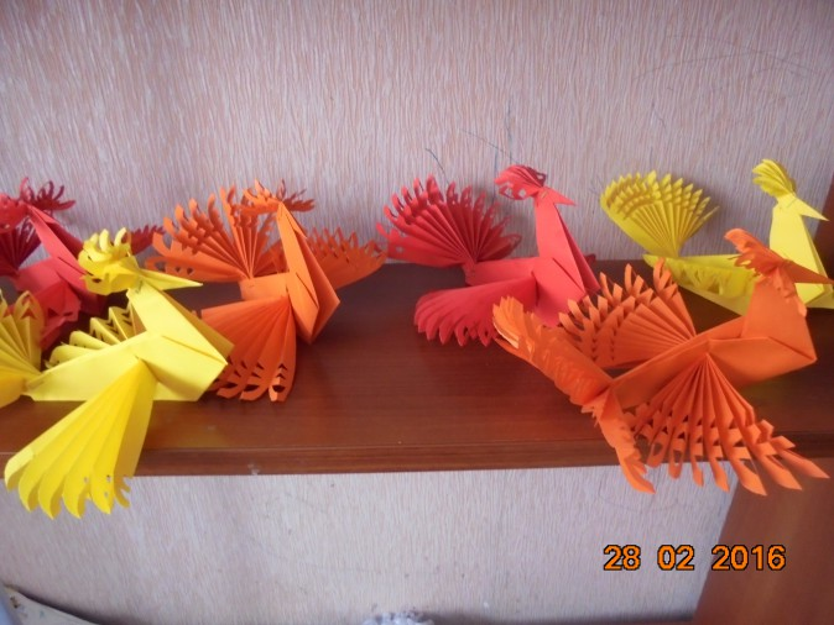 Мастер-класс. Оригами «Птица счастья»