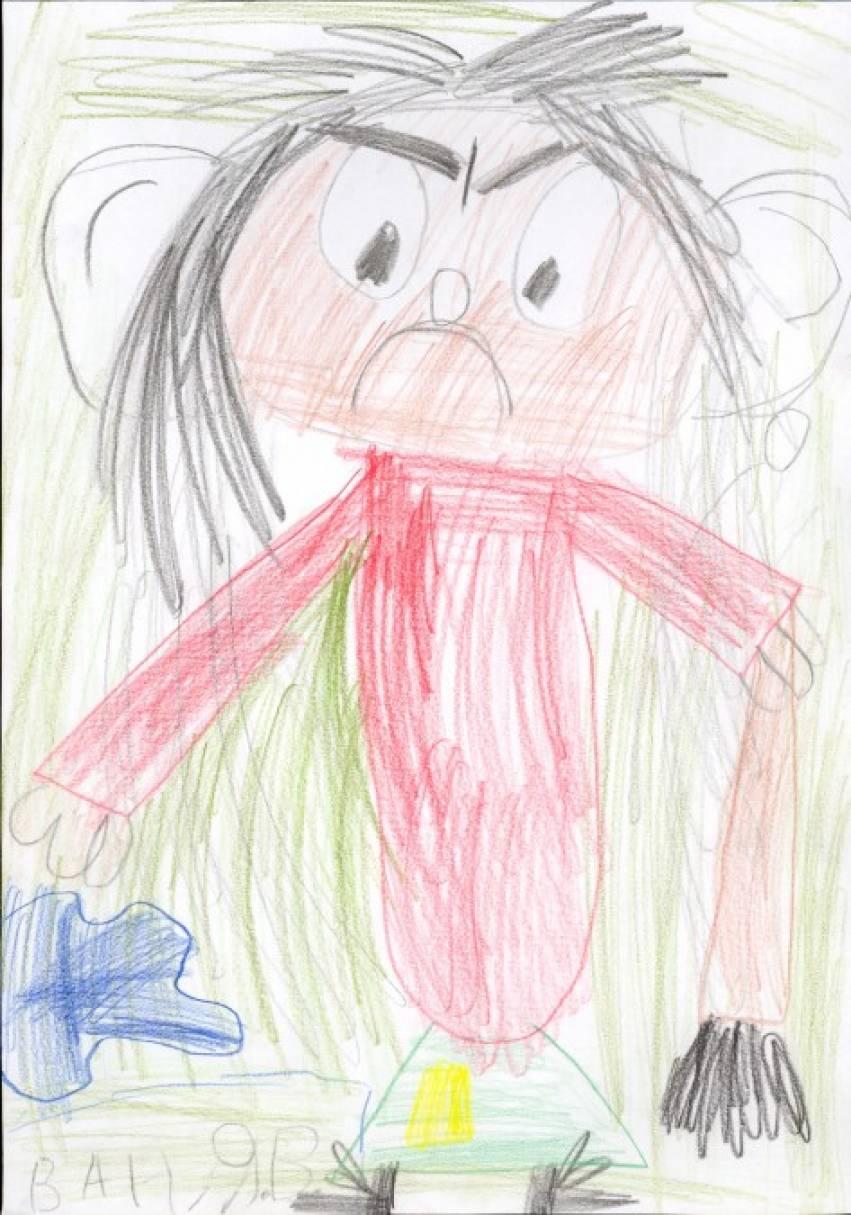 «Сбежавшая Баба-Яга» (рисование портрета по описанию). Конспект занятия по изобразительной деятельности для детей 6–7 лет