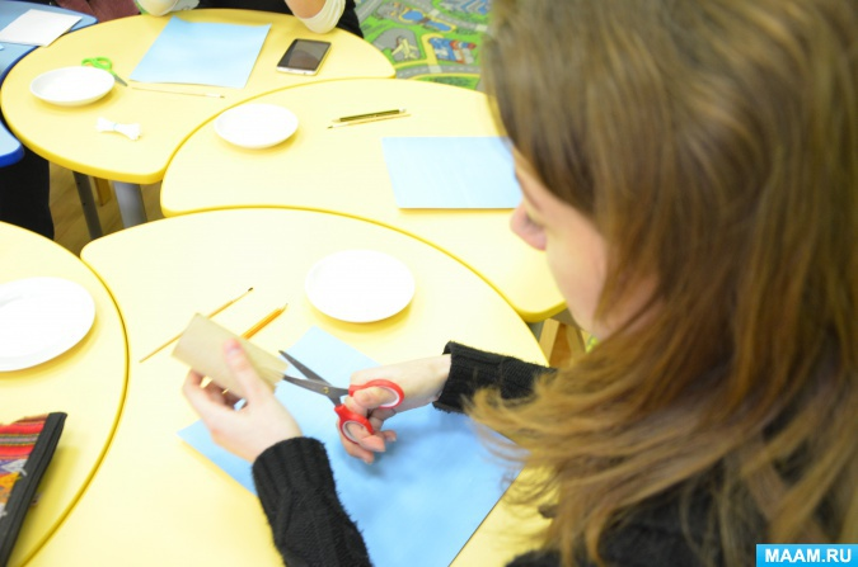 Мастер-класс для педагогов и родителей в нетрадиционной технике «Одуванчик»
