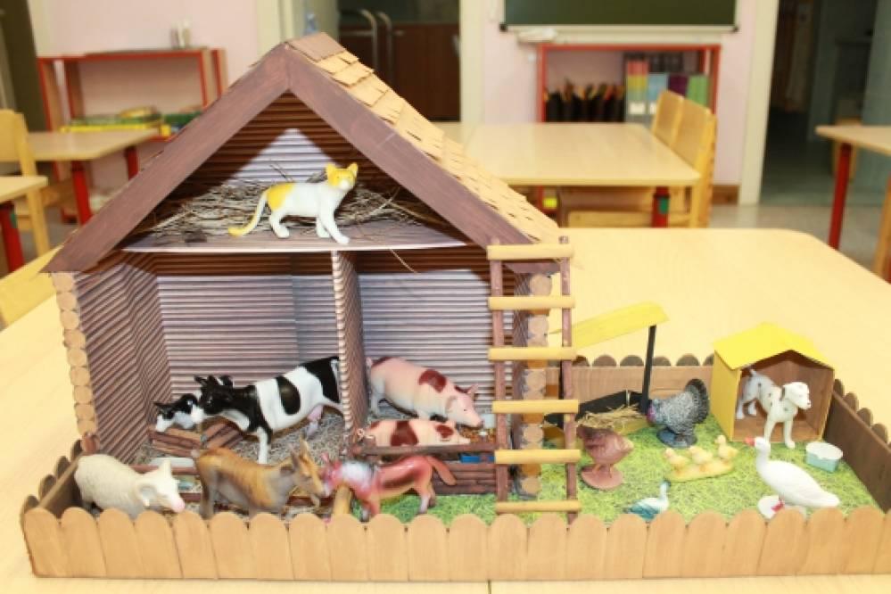 Животные для детского сада своими руками 722