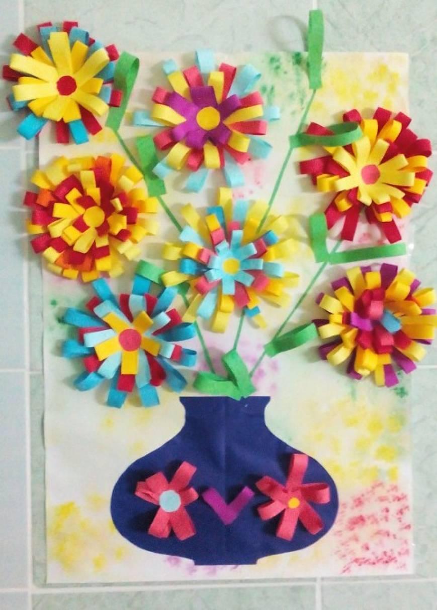 Для, открытки с днем мамы в детском саду