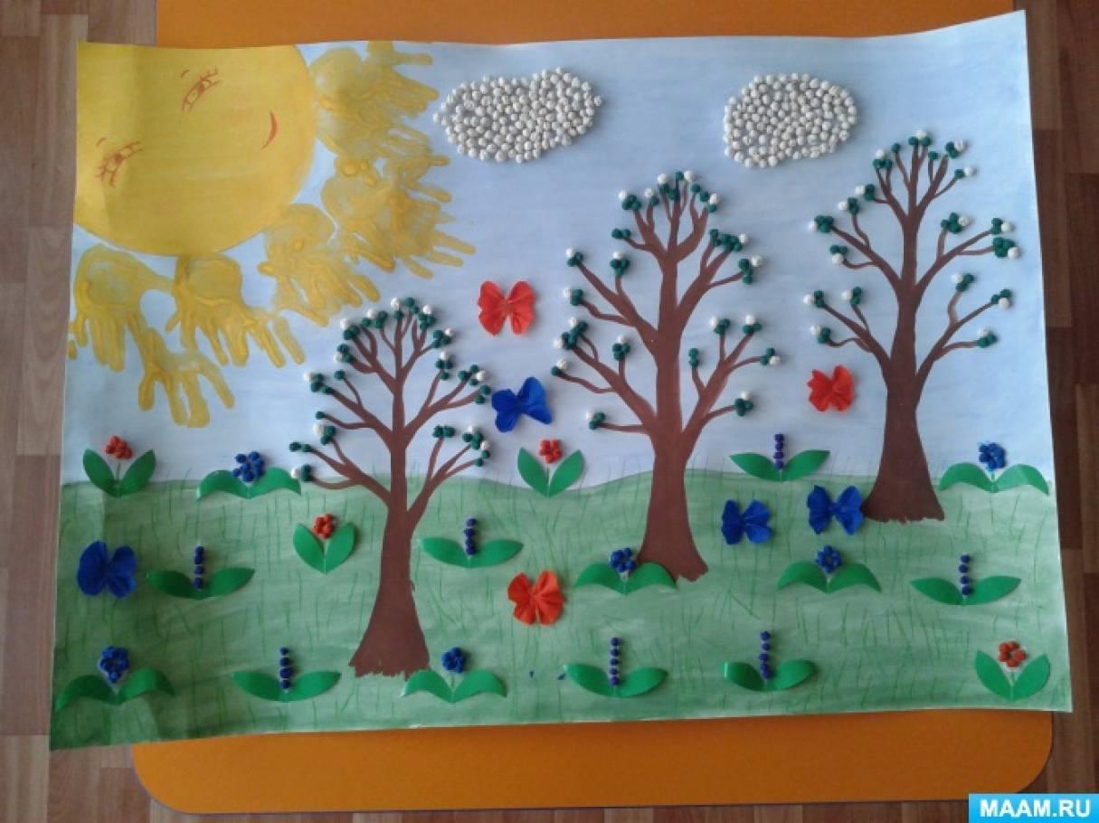 значит, рисование на тему весна в младшей группе картинки сети часто