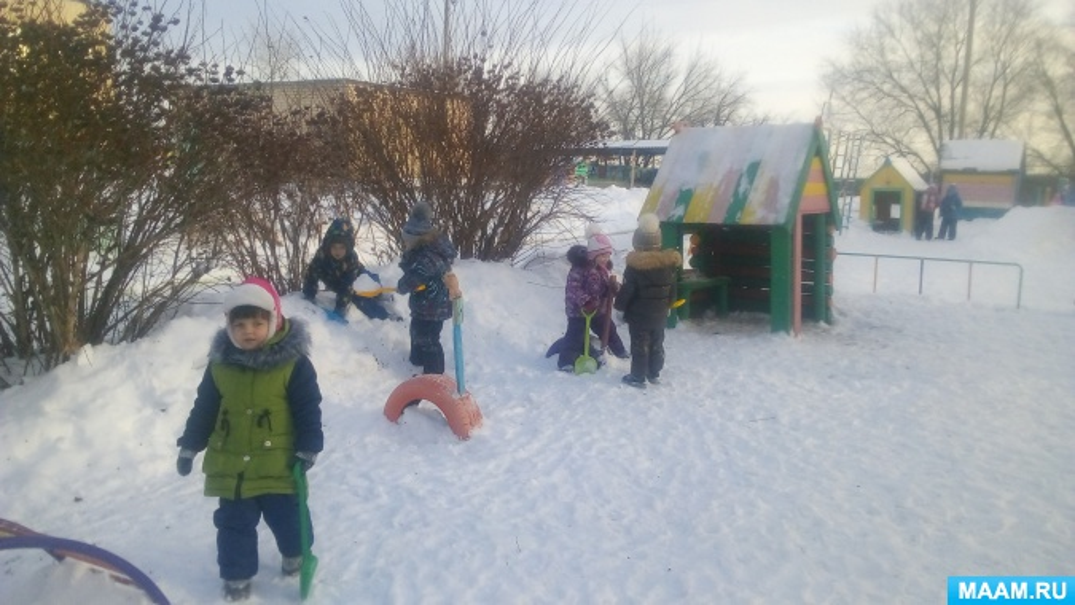 Фотоотчет об участии в проекте «Зимние виды спорта»