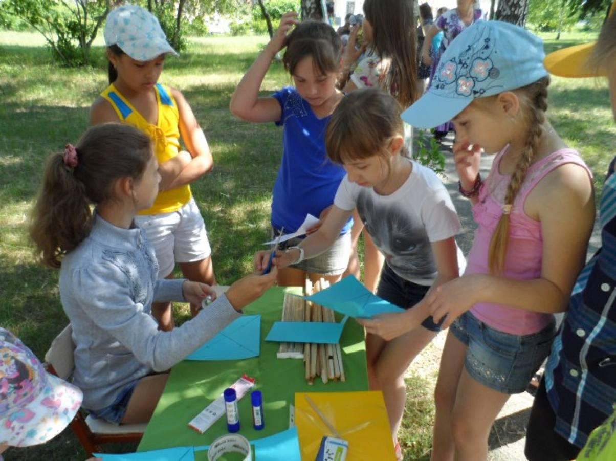 Игровые конкурсы для лагеря