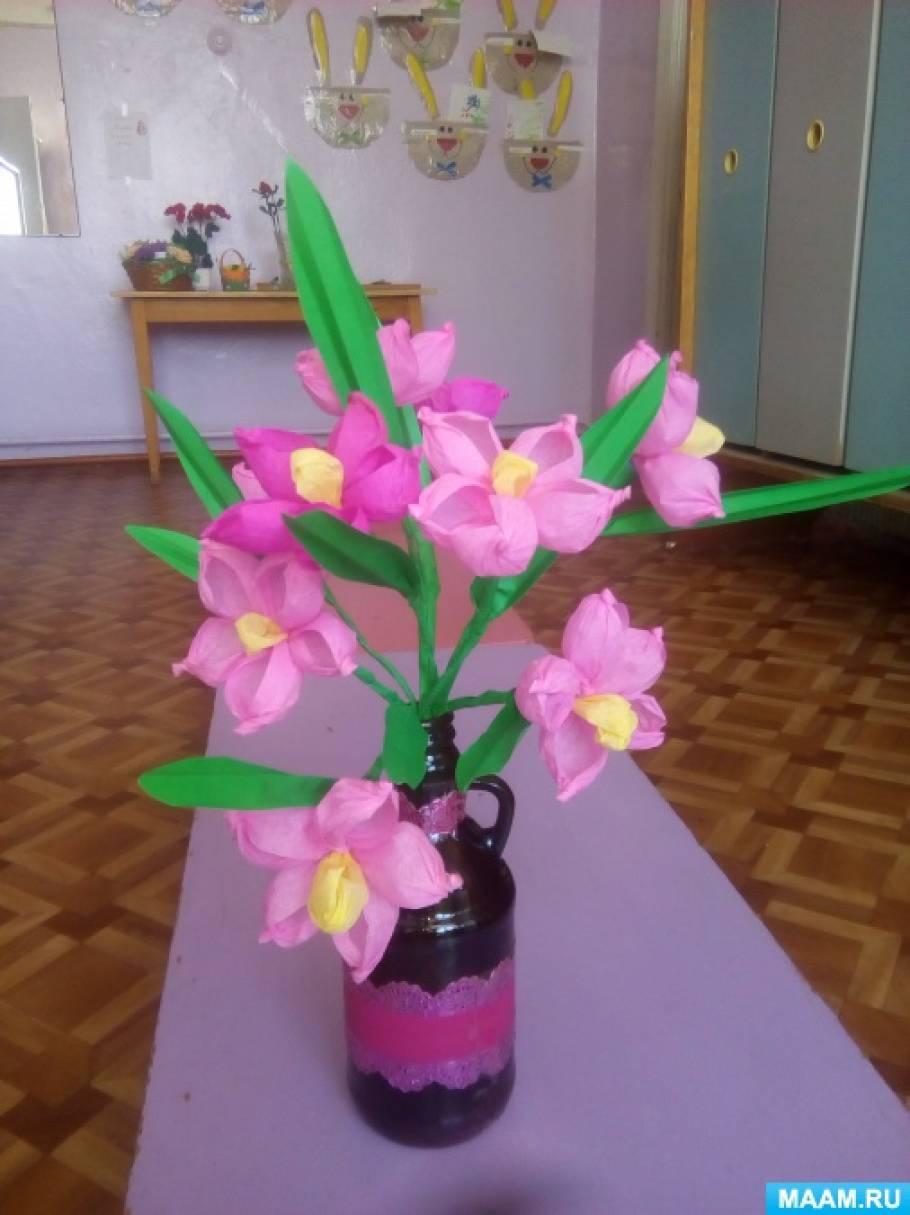 Мастер-класс «Весенний букет»