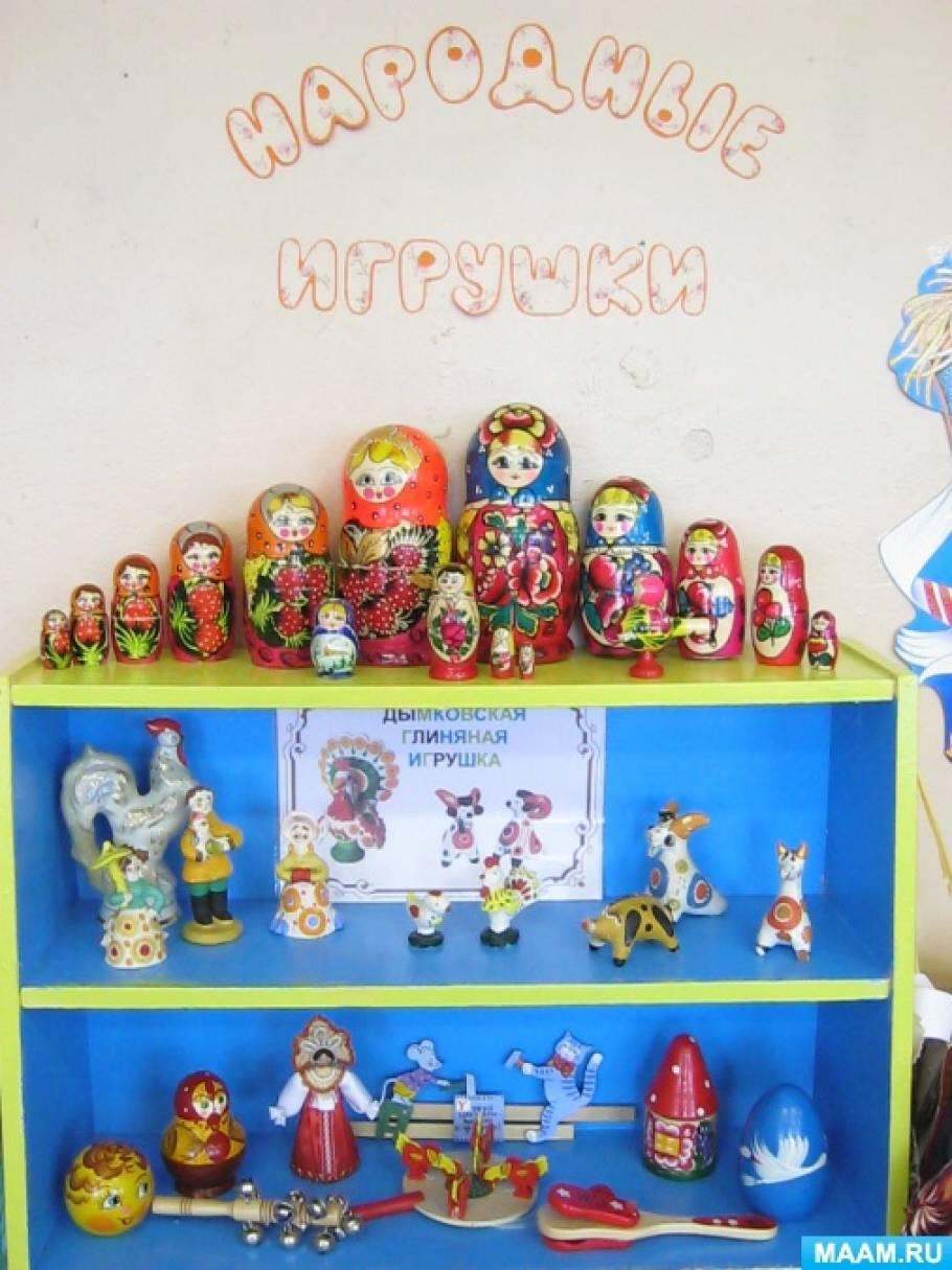 Фотоотчет по программе развития «Детский сад маленького патриота». Проект «Народные умельцы»