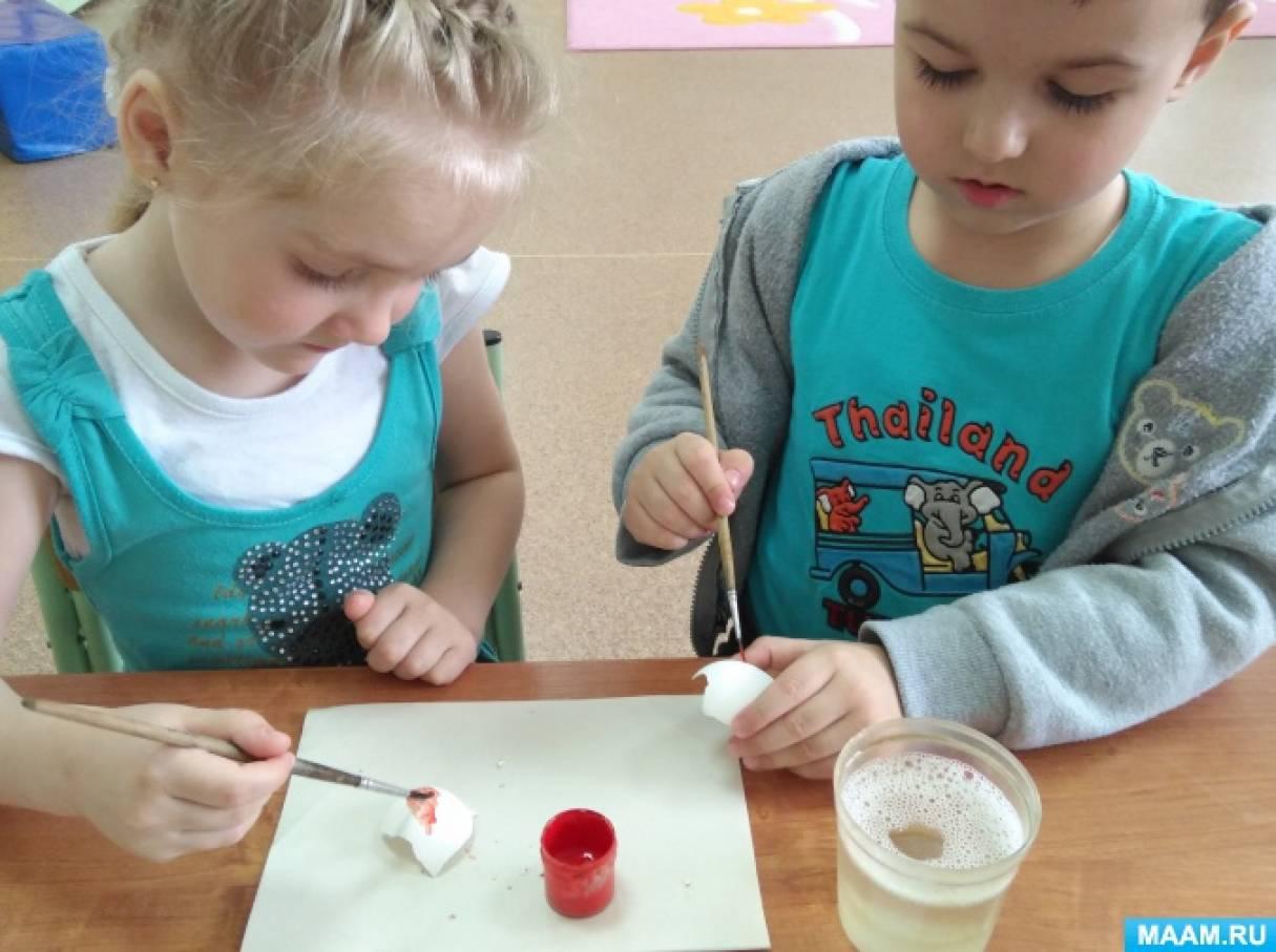 Техника кракле как средство развития художественно-творческих способностей детей дошкольного возраста