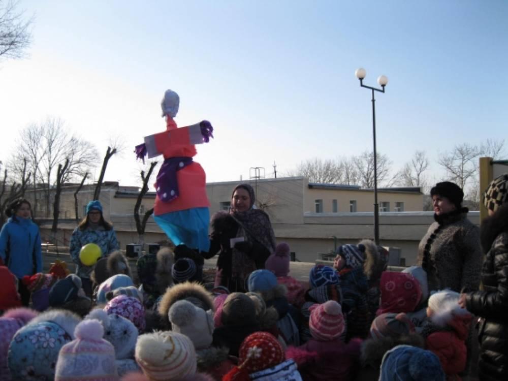 Празднование масленицы в детском саду!
