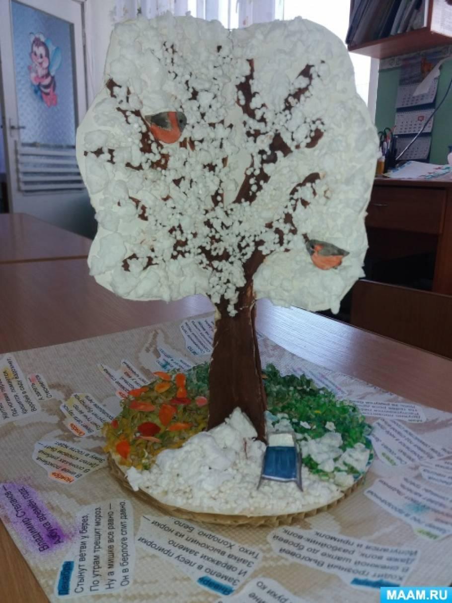 Коллективная работа «Дерево времен года»