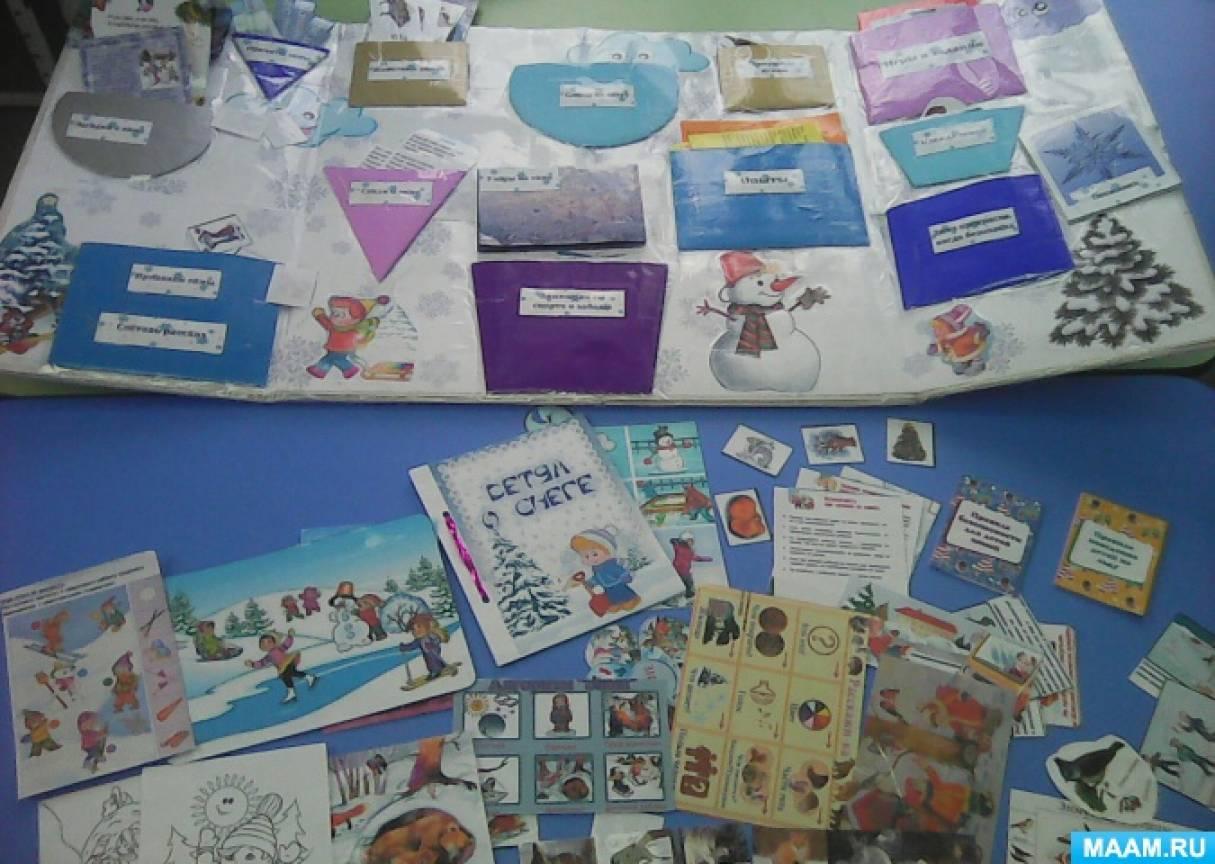 Лэпбук «Волшебница зима» для совместной и самостоятельной деятельности детей