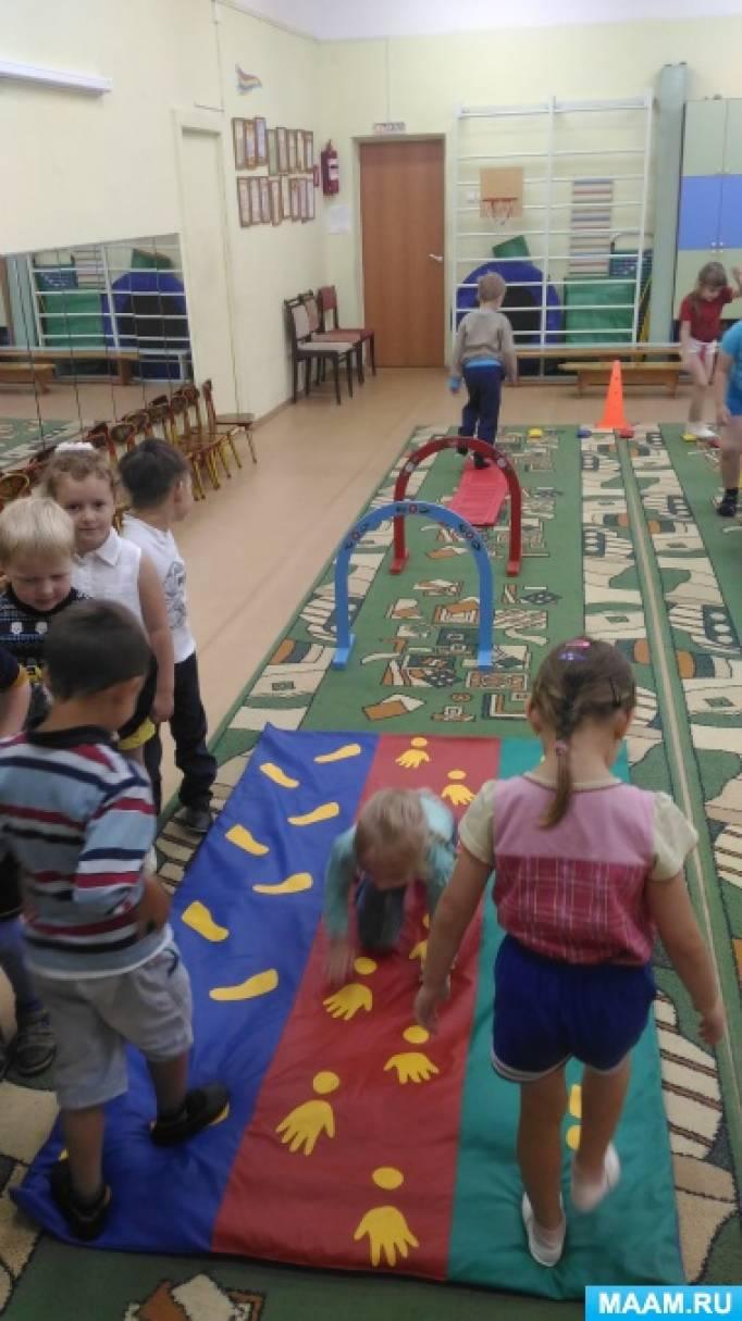 Упражнения для профилактики плоскостопия и нарушение осанки у детей дошкольного возраста