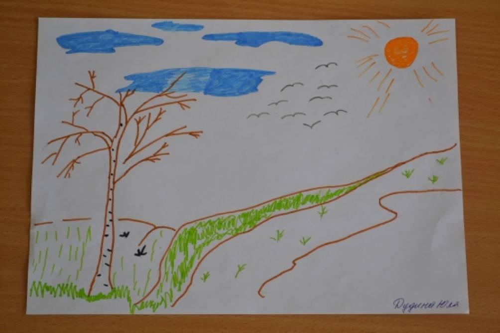 Прикольных мышат, нарисуй картинку про весну рисование в средней группе