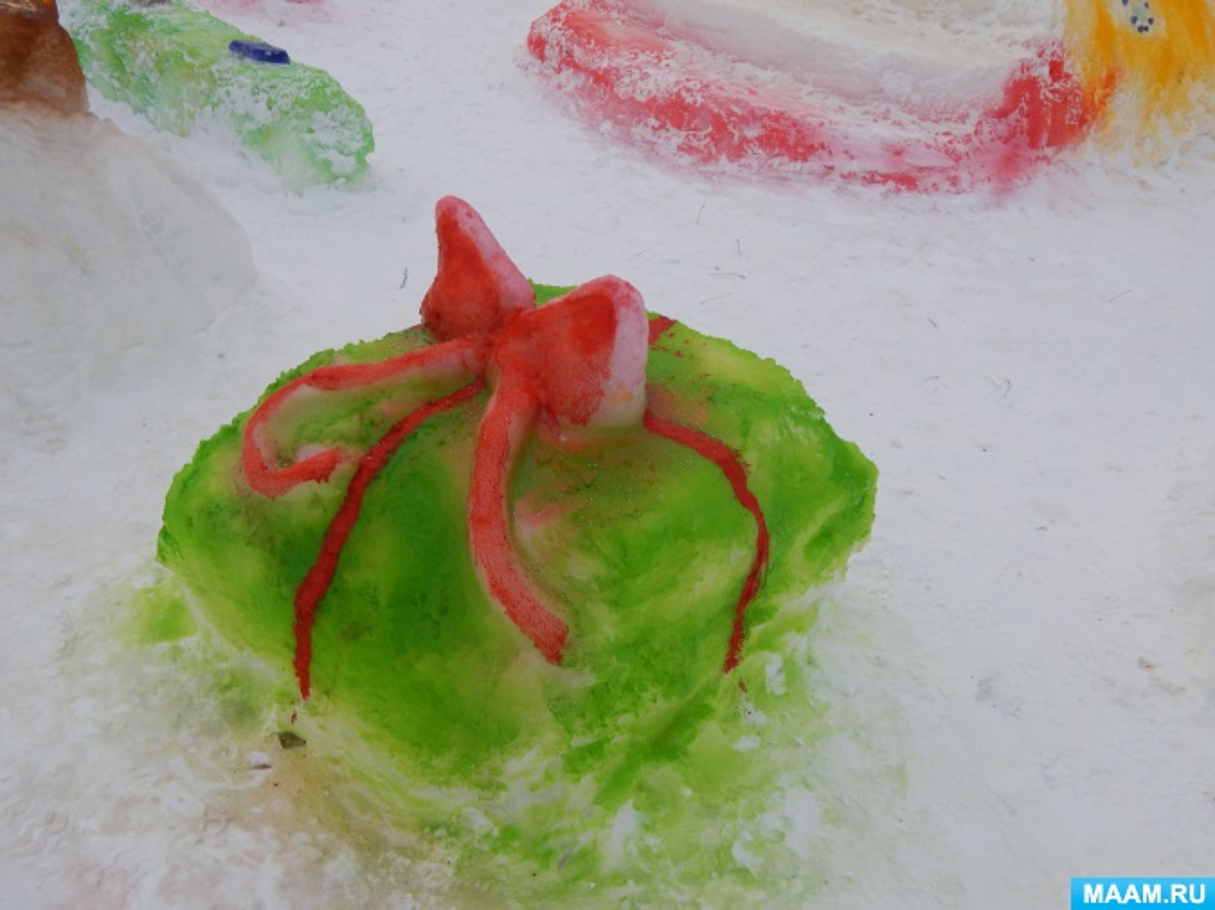 Постройки из песка в детском саду 118