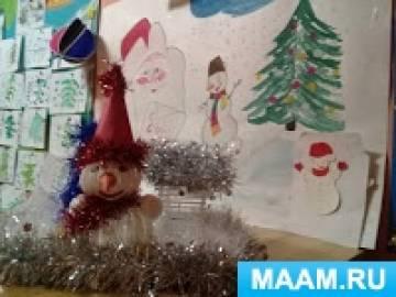 Фотоотчет о выставке новогодних поделок «Зимняя фантазия»