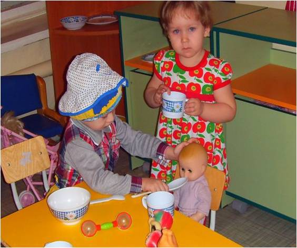методическая разработка знакомство с детьми