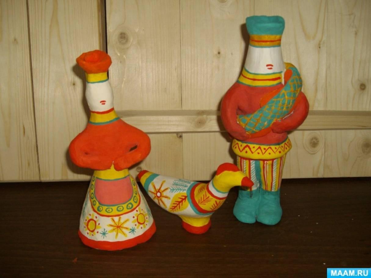 Конспект беседы филимоновские игрушки
