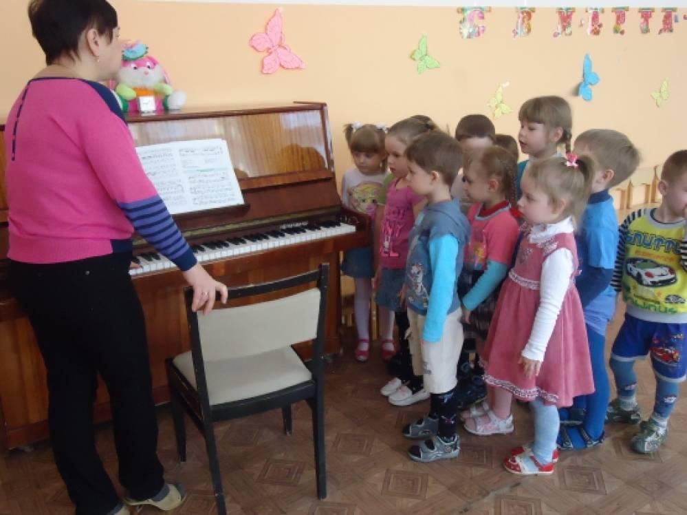знакомство детей с музыкальными длительностями