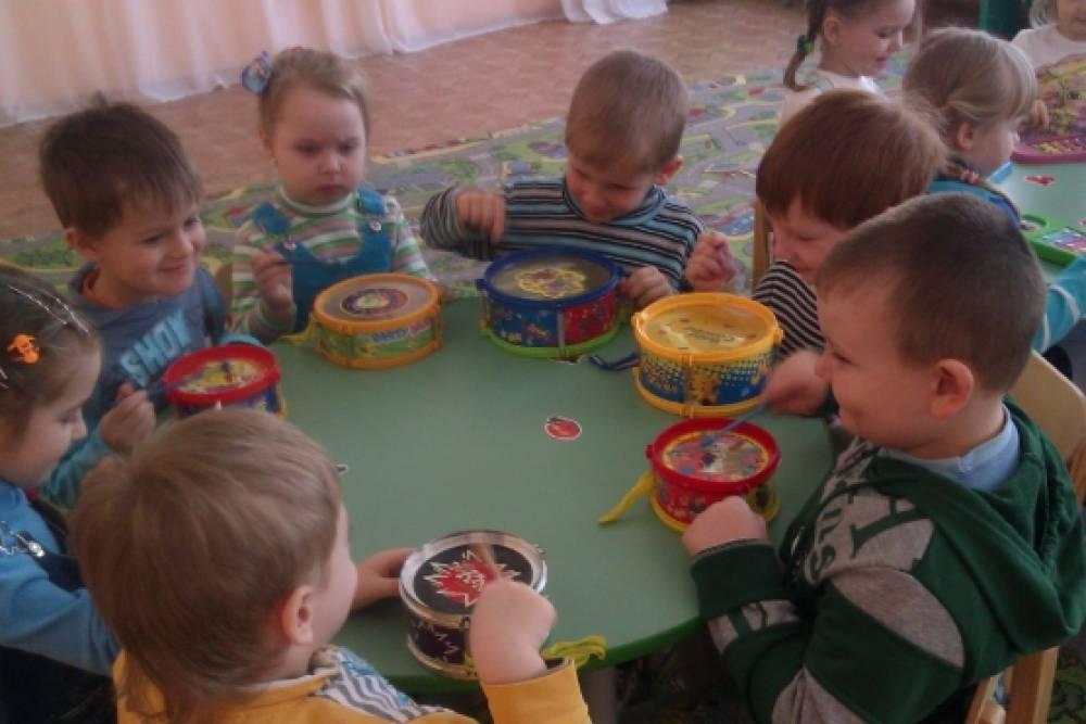 знакомство детей с группами музыкальных инструментов