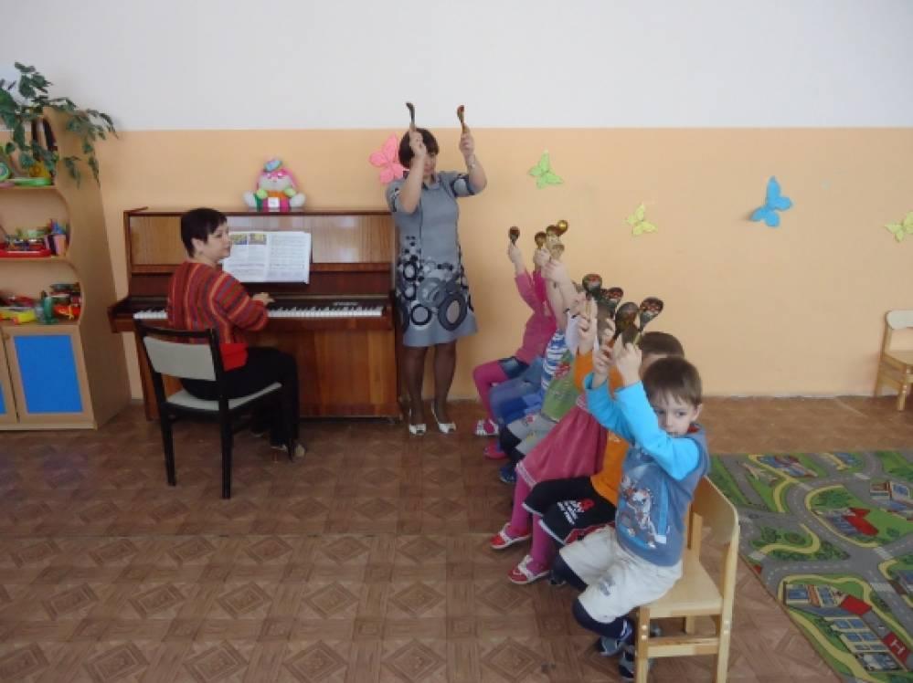 конспект занятий знакомство детей с музыкальными