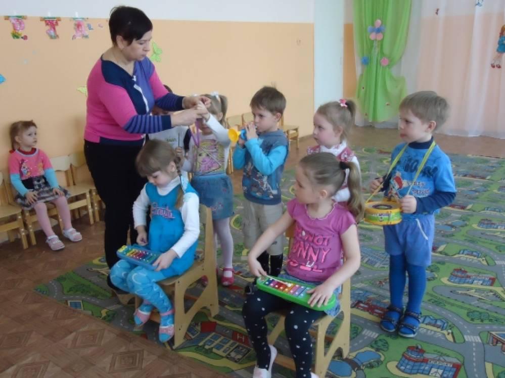 занятие знакомство с инструментами в детском саду