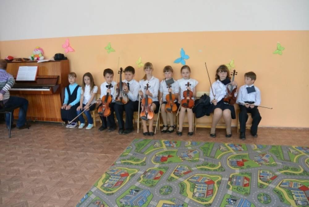 знакомим ребенка с музыкальными инструментами