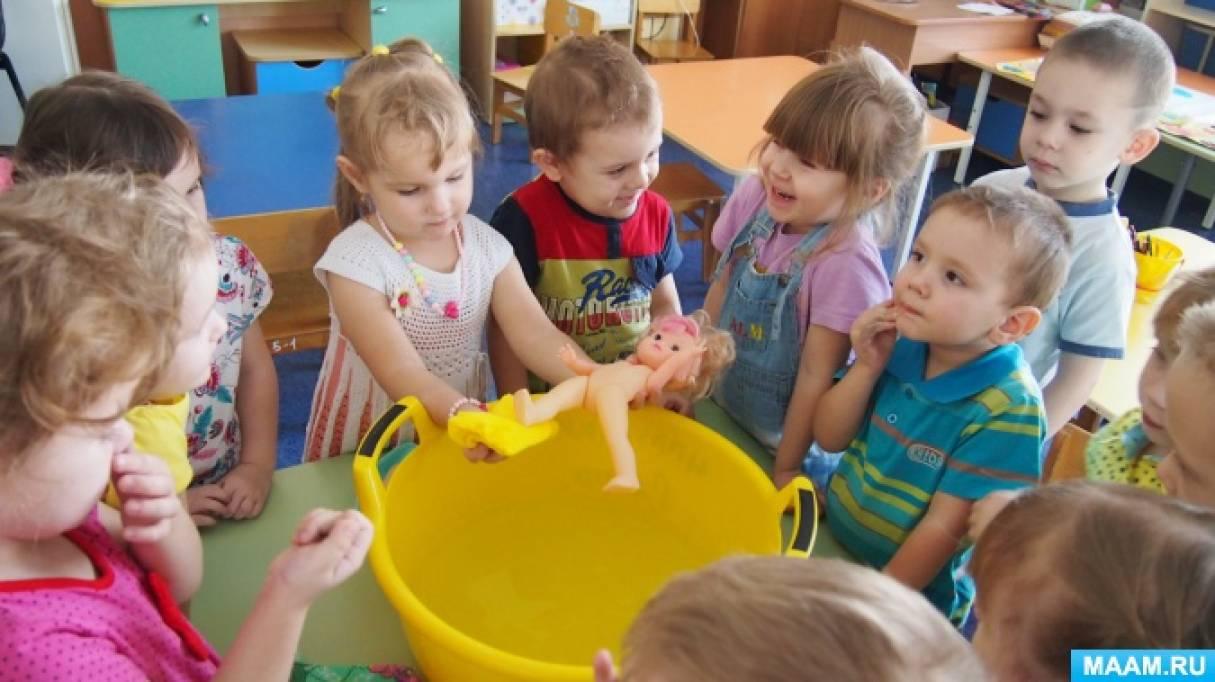Проект по здоровьесбережению «Малыши-крепыши» в младшей группе