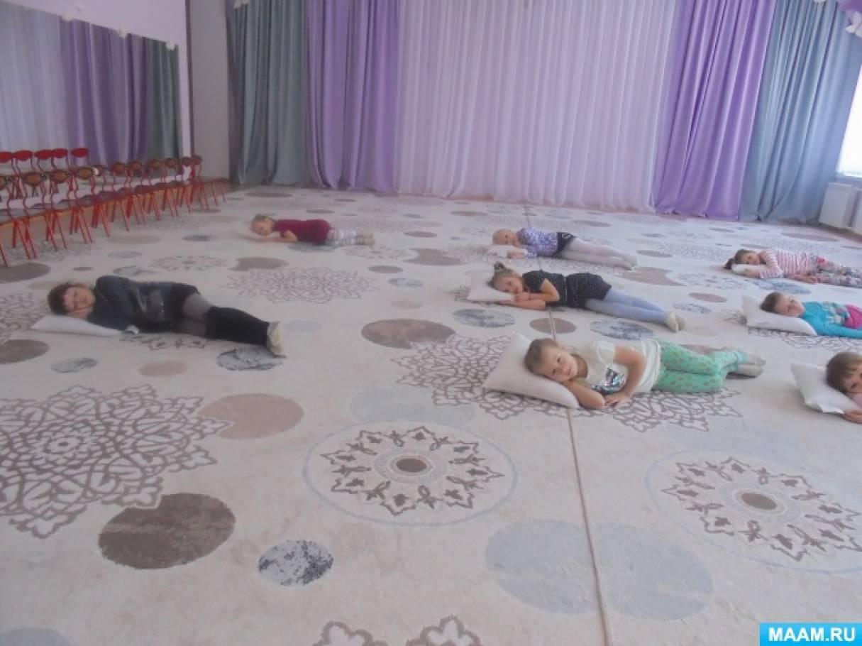 Фотоотчет о подготовке танца «Баю-баюшки»