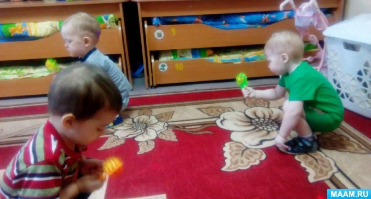 Развлечение в группе раннего возраста «Путешествие к Теремку»