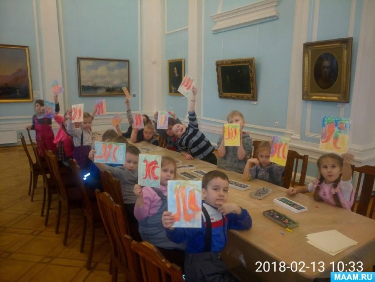 Фотоотчет об экскурсии в музей изобразительных искусств Республики Карелия «Загадки натюрморта»
