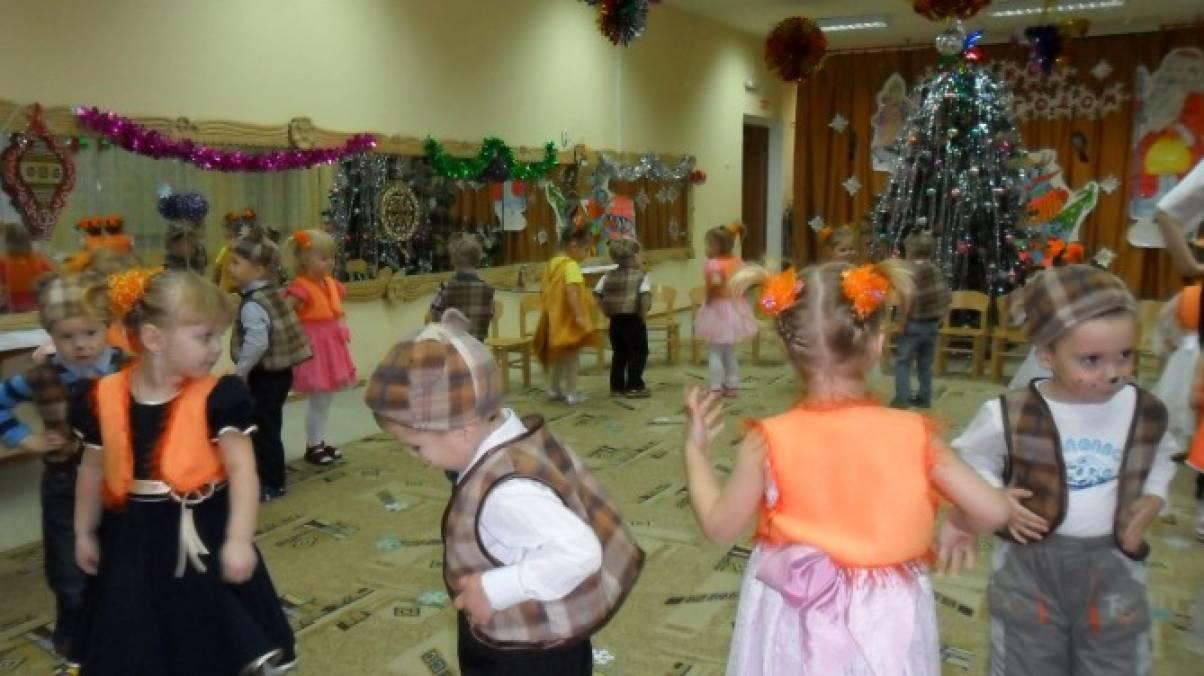 Новогоднее развлечение во второй младшей группе. Фотоотчет