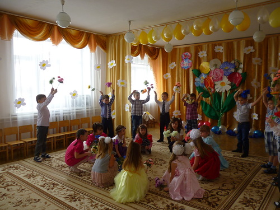 Фото отчёт о празднике 8 марта