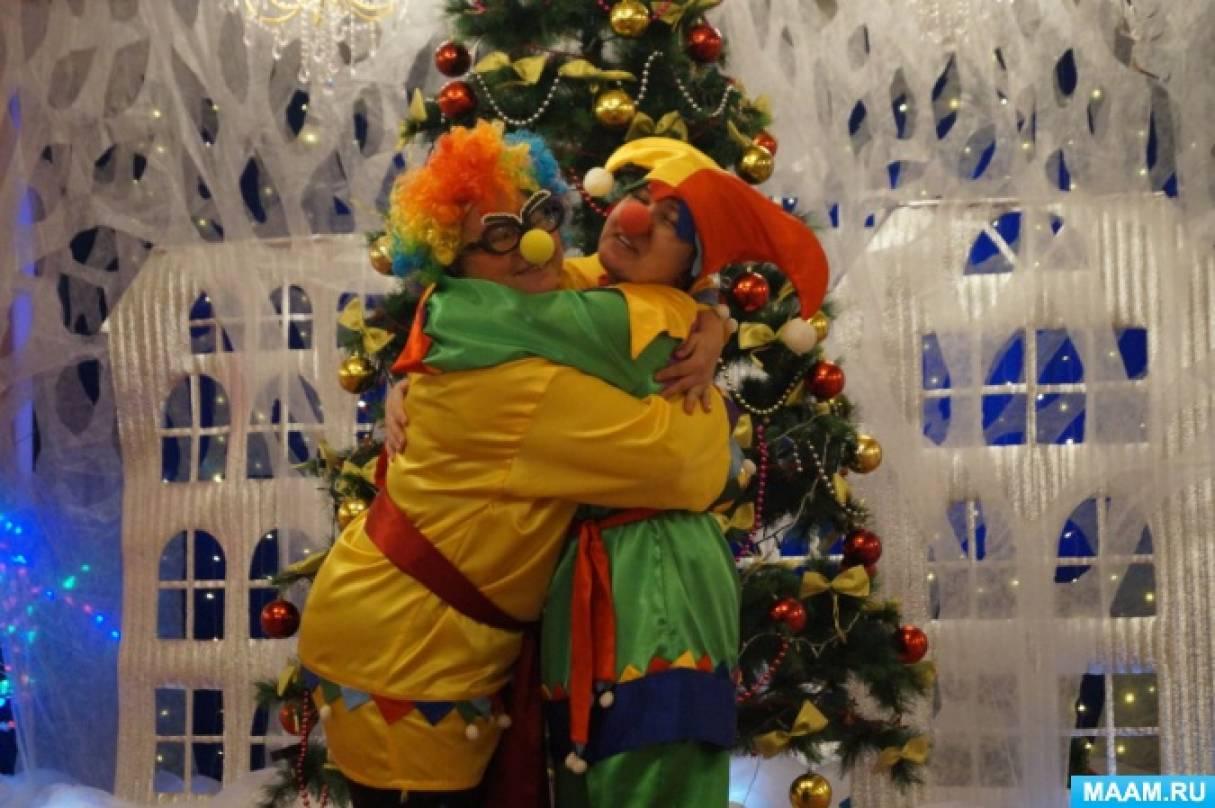 Новогодний сценарий «У Барбоса Новый год» в средней группе