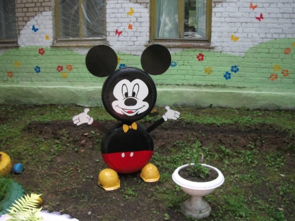 Фигуры на участке детского сада своими руками 22