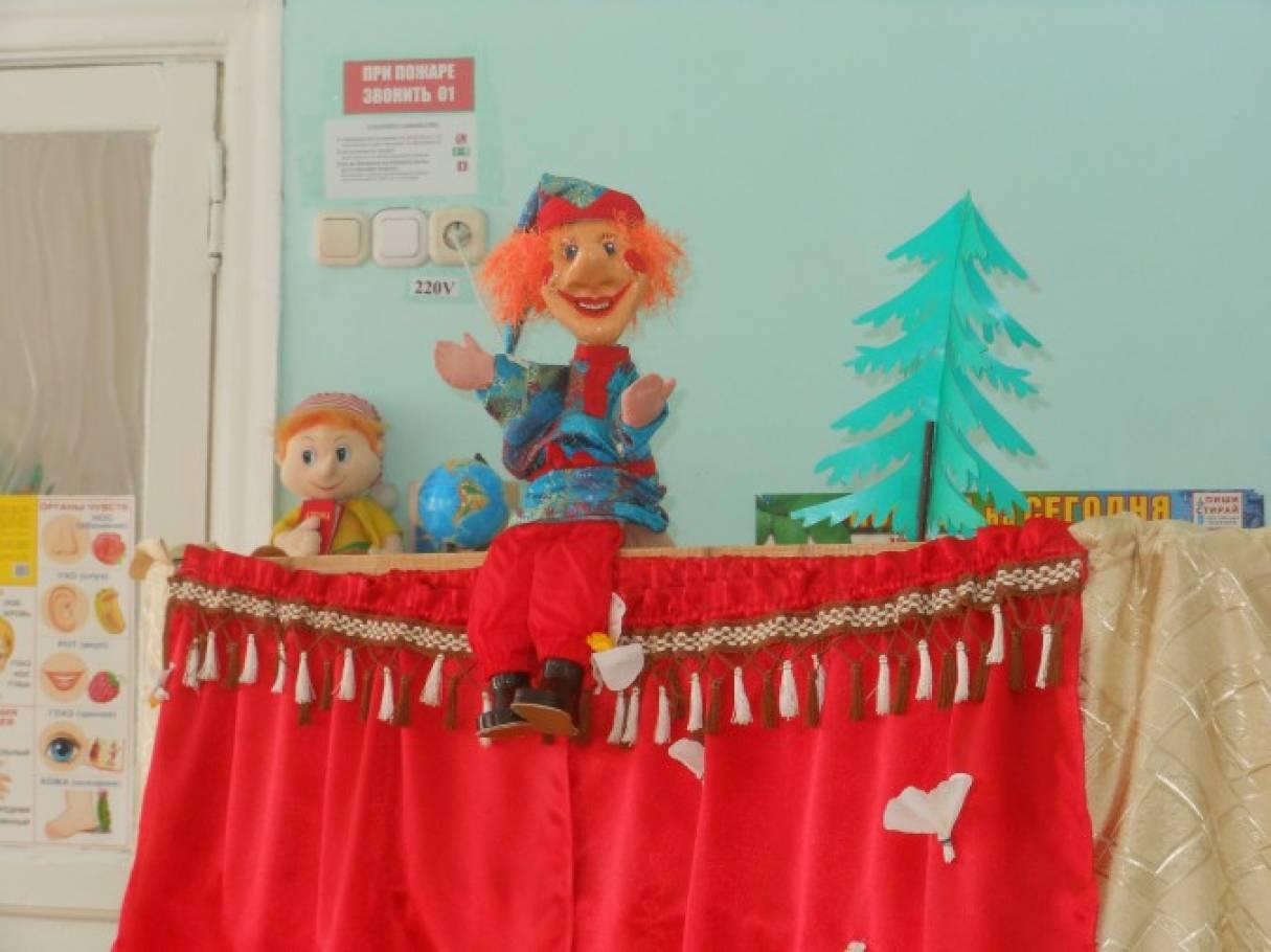 Сценарий для кукольного театра на день рождения