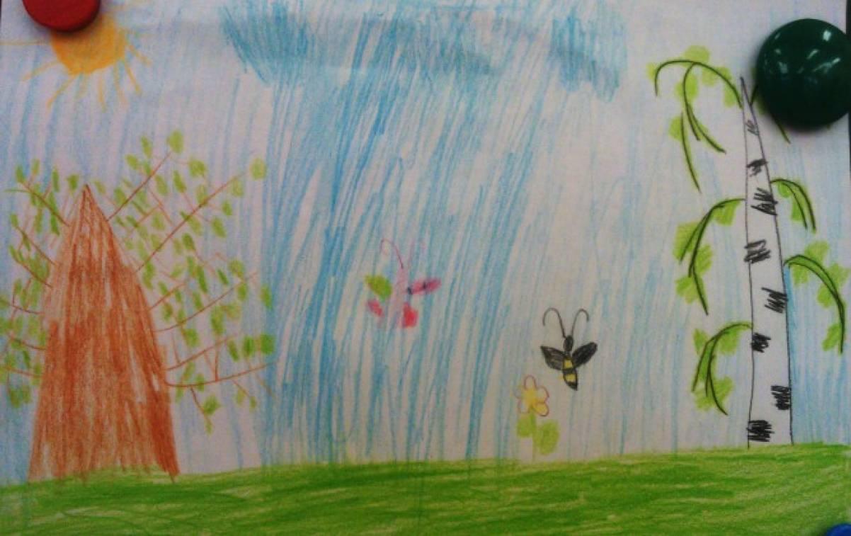 Оформление детских рисунков в детском саду своим руками