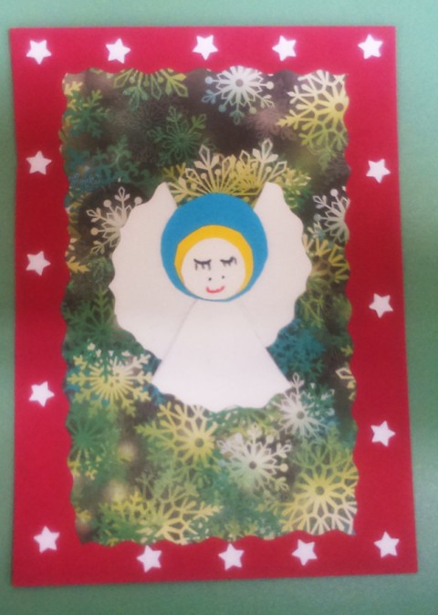 Поздравительная открытка к празднику Рождества