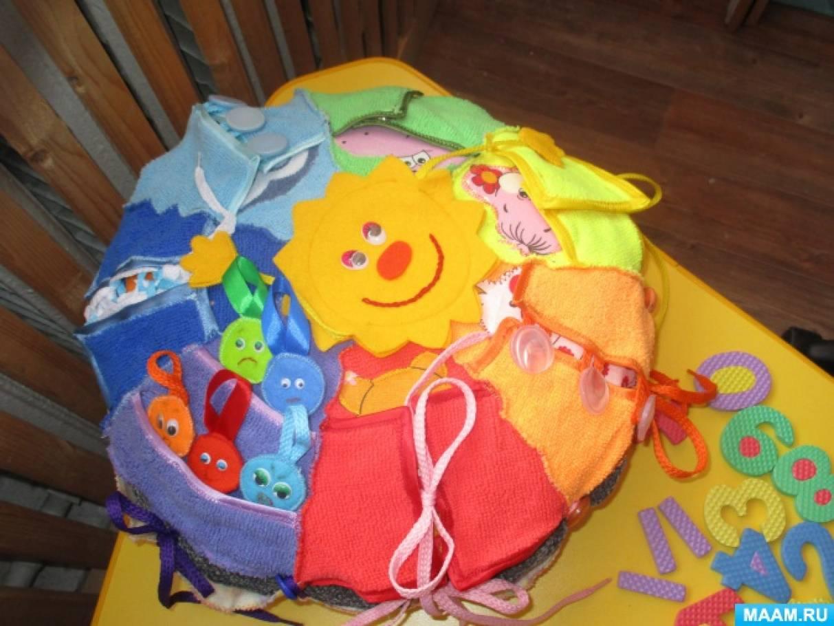 Развивающие подушки своими руками для детей фото 61