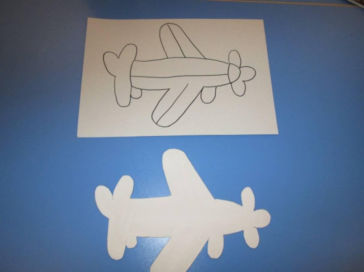 Самолетик своими руками на открытке, конен белэн энием