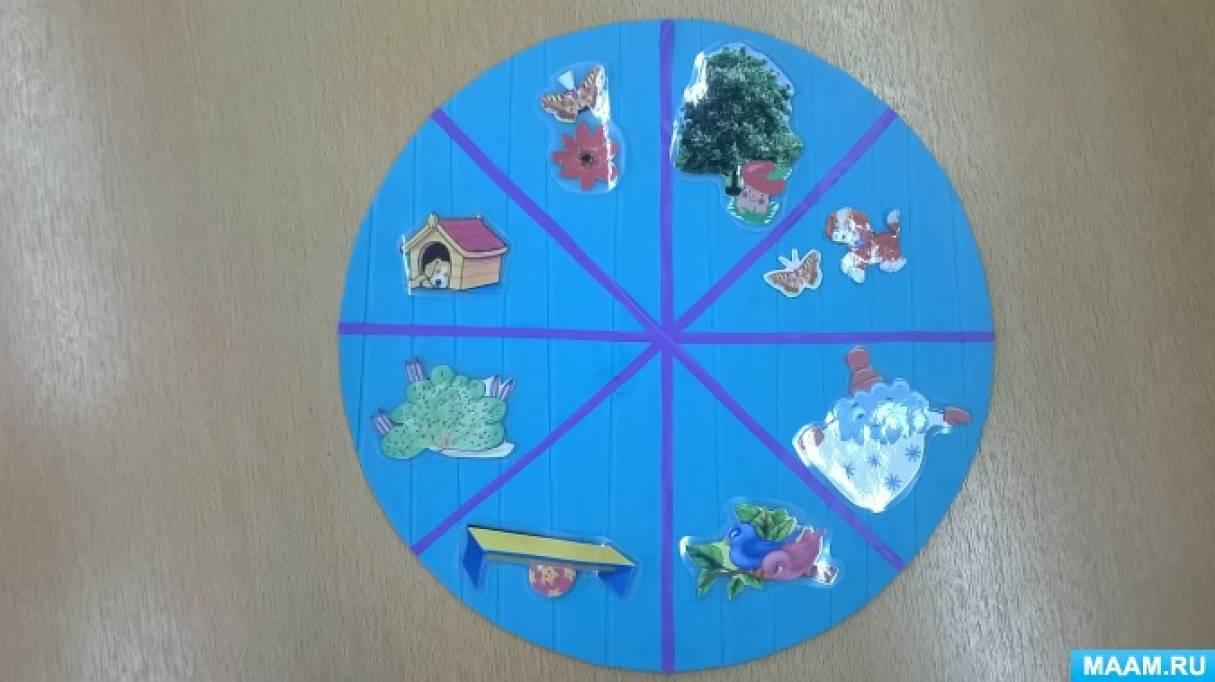 Дидактическая игра для развития связной речи детей среднего дошкольного возраста «Что где находится?»