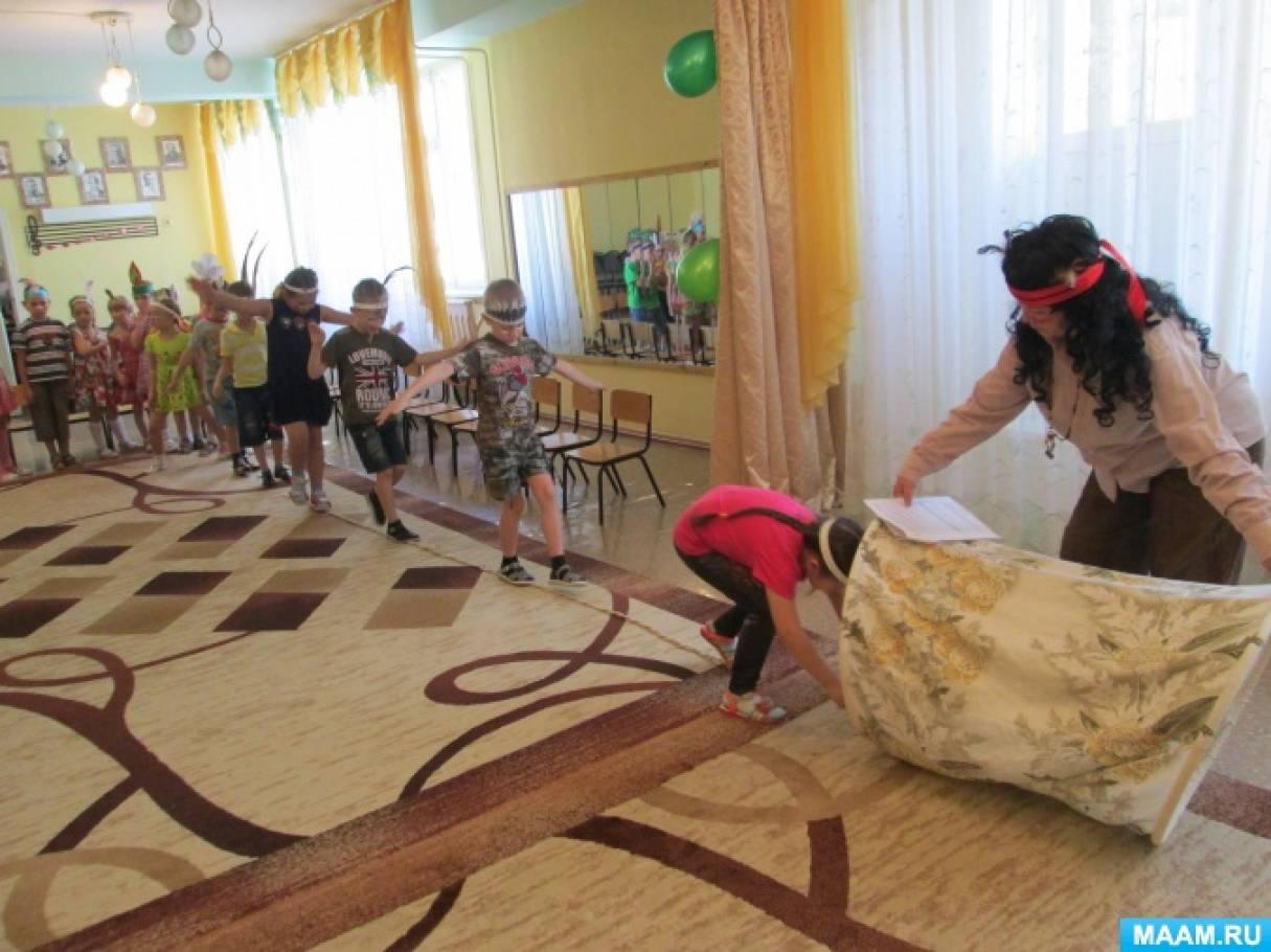 Сценарий дня рождения в детском саду «Индейцы» (подготовительная группа)