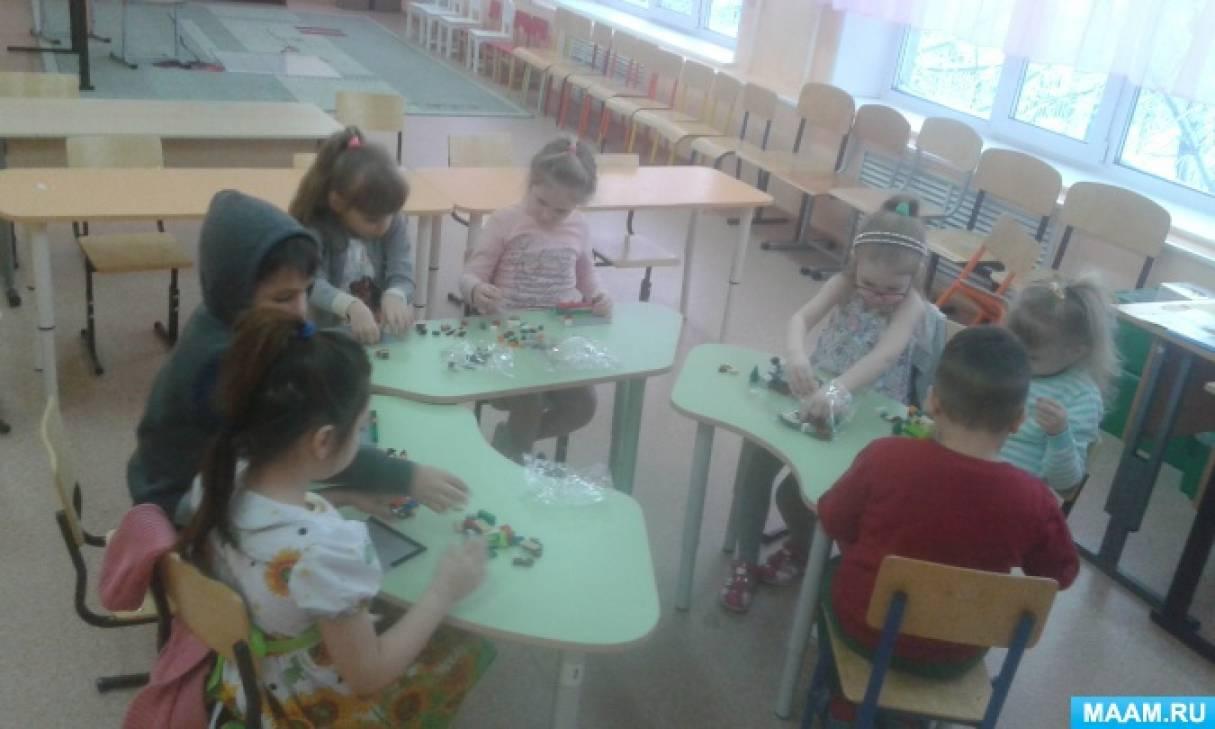 Совместная деятельность с детьми старшего дошкольного возраста по легоконструированию «Построй свою историю»