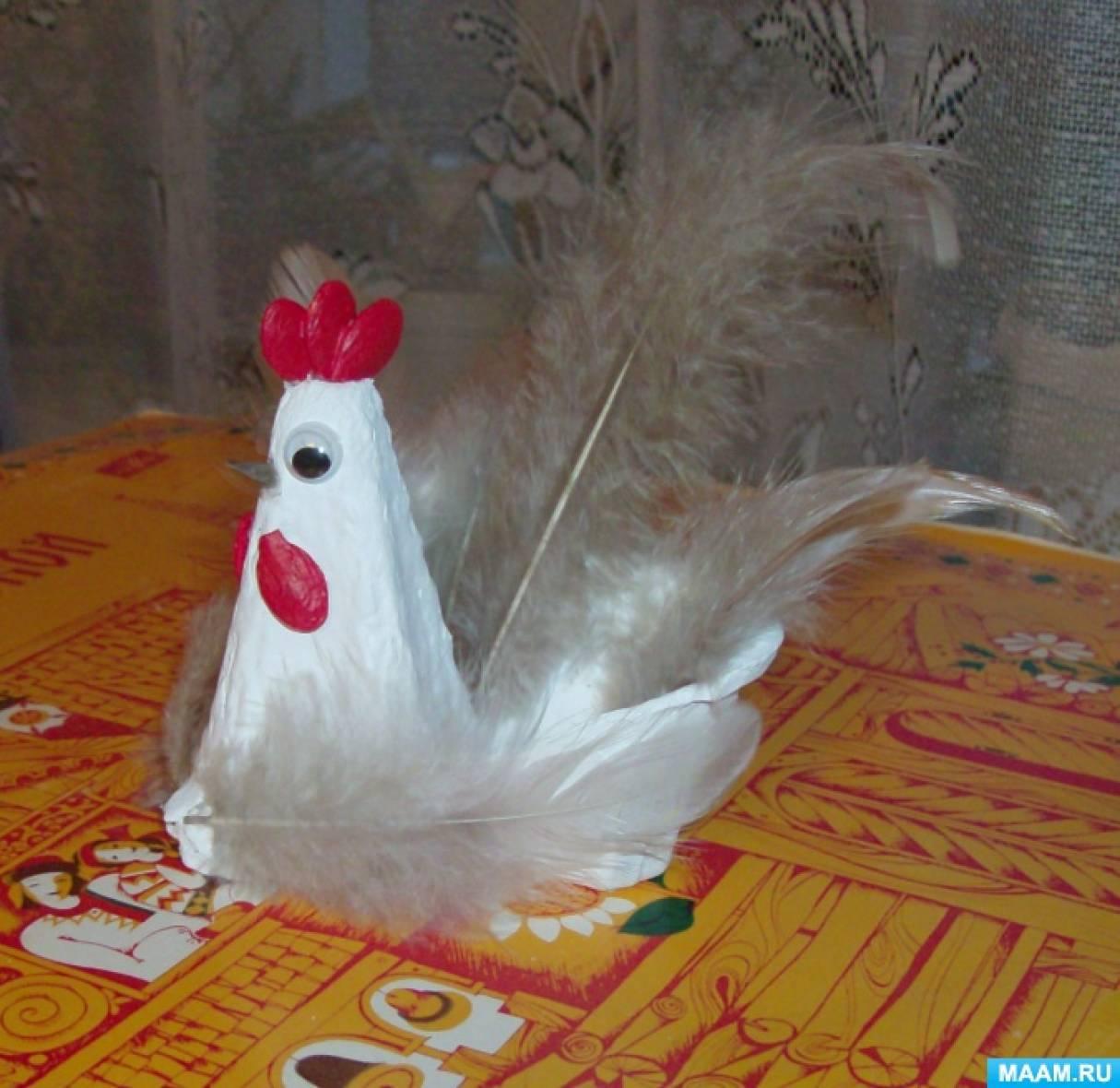 Изготовление курицы своими руками 3