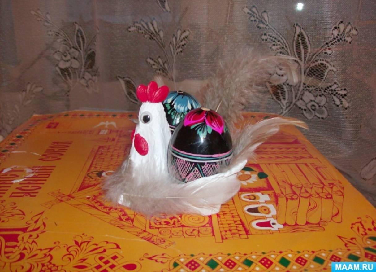 Мастер-класс по изготовлению поделки из бросового материала «Курица»