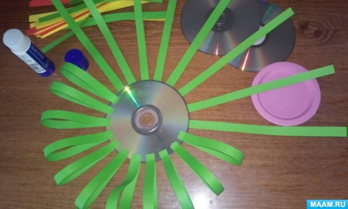 Светофор из дисков своими руками 80