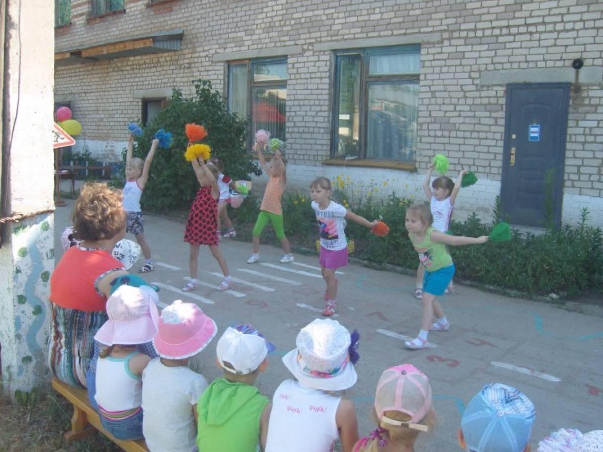 «Главная дорога» — спортивный праздник для детей старшего возраста