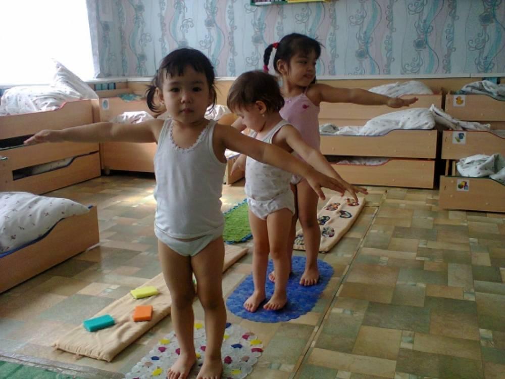 Картинки закаливание детей 2 3 лет