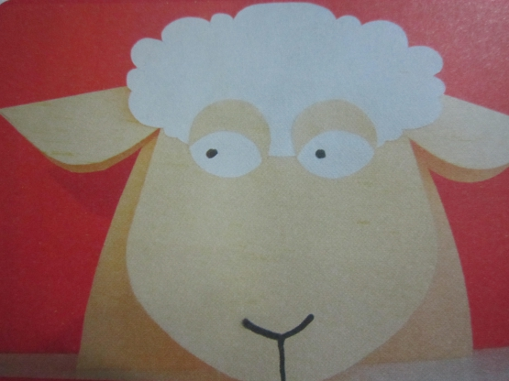 Поделки на новый год из бумаги овечку
